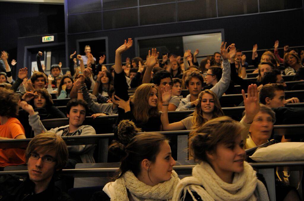Jeune public à Pariscience